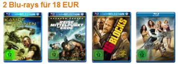 Blu-ray Filme reduziert - 2 für 18 €