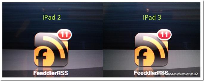 FeeddlerRSS auf iPad 2 und dem neuen iPad 3