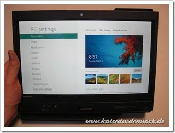 Windows 8 consumer Preview - Erster Eindruck