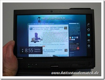Windos 8 Consumer Preview - kurz installiert
