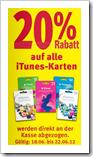iTunes Karten - Prepaid - günstiger / billiger - iPad, iPhone, AppleTV, Mac, iPod