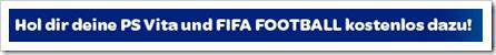Fifa Football kostenlos beim Kauf einer PS Vita