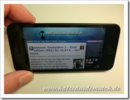 iPhone 5 - geliefert - Hermes - Fehler - Kratzer -Scuffgate