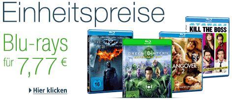 Blurays für 7,77 € - Heimkino - Filme - reduziert - Aktion