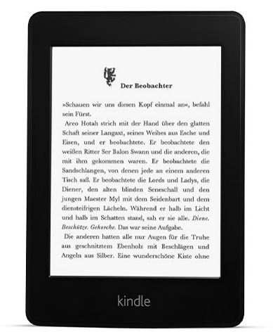 eBook-Reader, eReader von amazon - Kindle Paperwhite - bester eReader