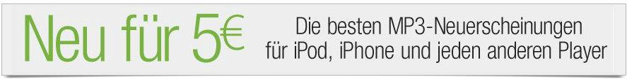 MP3 Alben Neuheiten reduziert