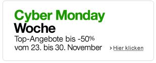 amazon - Cyber Monday 2012 - Angebote