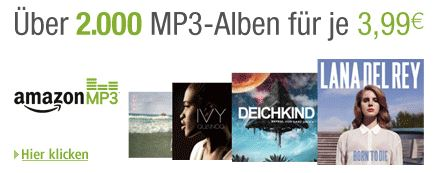 Über 2000 MP3-Alben günstiger