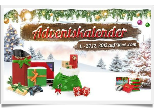 Adventskalender 2012 - XBox Microsoft Windows Phone Windows 8
