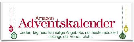 Angebote im Adventskalender von amazon.de