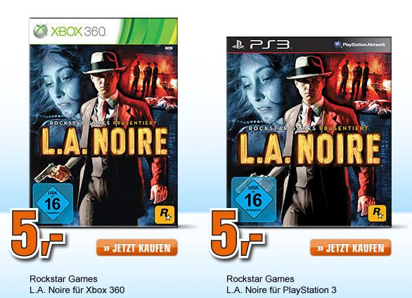 Saturn Late Night Shopping Xbox 360/PS3 Spiel für 5 €