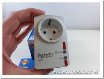 Premium Funksteckdose von AVM - DECT und Energiekosten messen
