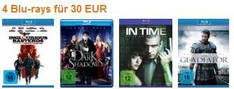 Reduzierte Filme auf Blurays - Heimkino