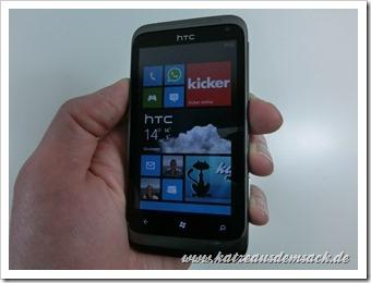Windows Phone 7.8 im Kabeltrick und Zune installieren