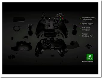 Der neue Controller der Xbox One
