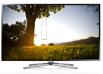 Samsung UE50F6470 126 cm  50 Zoll  3D LED Backlight Fernseher  EEK A   Full HD  200Hz CMR  DVB T C S2  CI   WLAN  Smart TV  HbbT