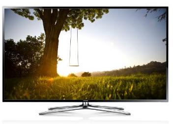 Samsung UE50F6470 126 cm  50 Zoll  3D LED Backlight Fernseher  EEK A   Full HD  200Hz CMR  DVB T C S2  CI   WLAN  Smart TV  HbbT
