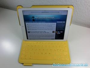 Logitech FabricSkin Keyboard Folio i5 - Testkandidat