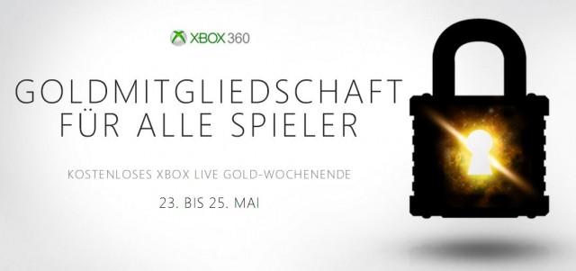 Kostenloses Xbox Live Wochenende Mai 2014 - Xbox 360 - Xbox One
