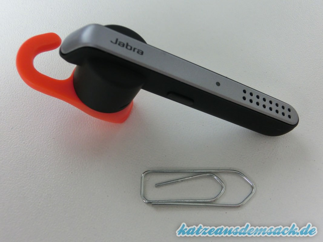 test jabra stealth bluetooth headset klein aber fein. Black Bedroom Furniture Sets. Home Design Ideas