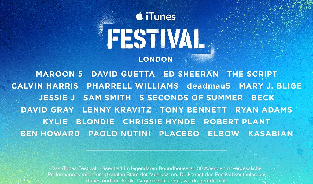 itunes-festival-2014-apple-tv-app-konzert-london-roundhouse-kostenlos-unterwegs