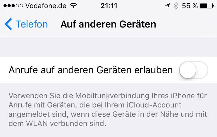 iphone-ipad-ios9-beide-geräte-klingeln-mehrere-geräte-facetime-wlan-appleid