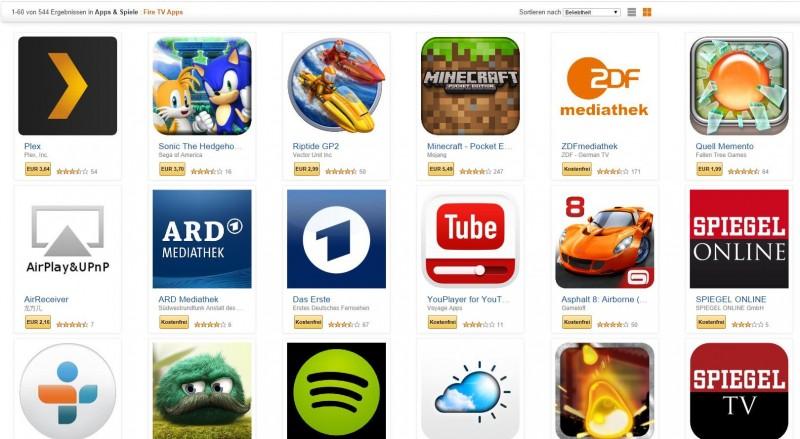 Amazonfiretvuebersichtlisteallerappsundspiele - Minecraft spiele amazon