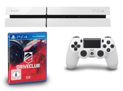 amazon-weiße-playstation-4-mit-driveclub-399-euro