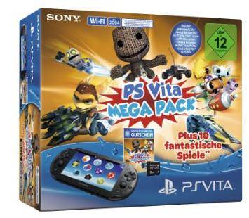 ps-vita-mega-pack-mit-10-spielen für unter 100 Euro