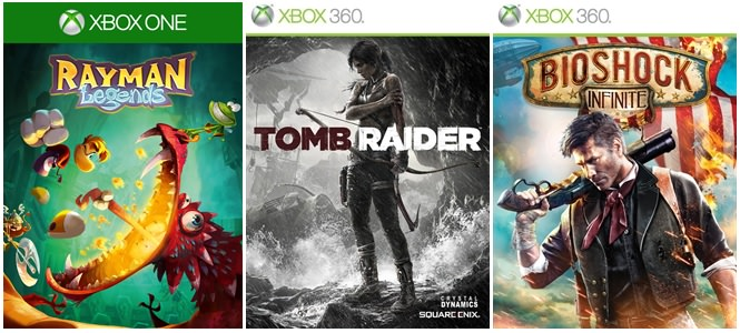 xbox-one-xbox-360-games-with-gold-maerz-2015-rayman-tombraider-bioshock