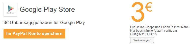 google-play-3-euro-guthaben-geschenkt-gutschein-paypal