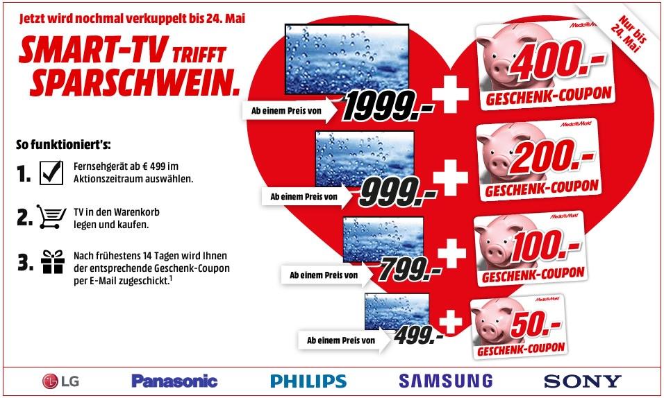smart-tv-fernseher-media-markt-sparschwein-bis-400-euro-geschenk-coupon-karte