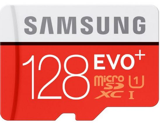Samsung-Speicherkarte-MicroSDXC-128GB-EVO-Plus-UHS-I-Grade-1-class-10