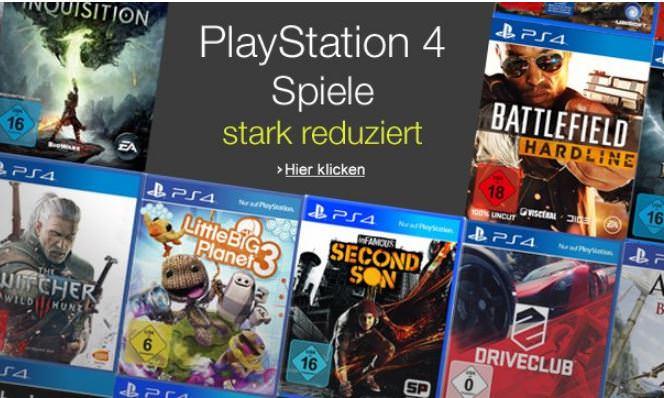 amazon playstation 4 games stark reduziert z b the. Black Bedroom Furniture Sets. Home Design Ideas