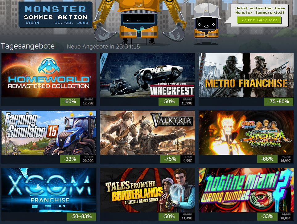 steam-monster-sommer-aktion-2015-sale