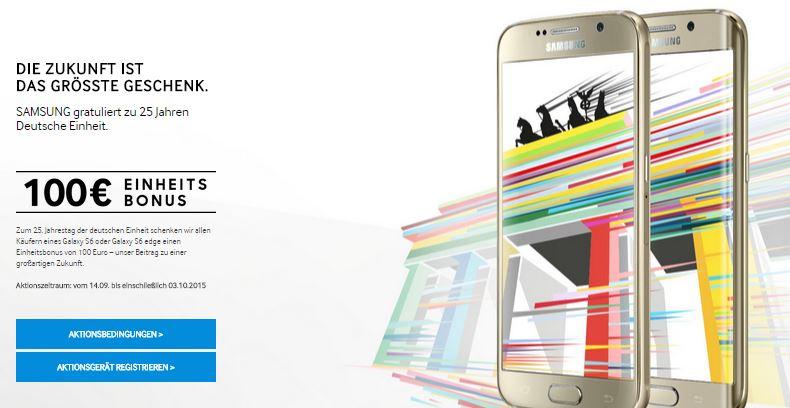100-euro-einheitsbonus-samsung-galaxy-s6-und-6s-edge-smartphone-cashback