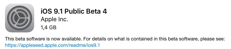 iOS91-beta-4-public-tester-apple-betriebssystem-ipad-iphone