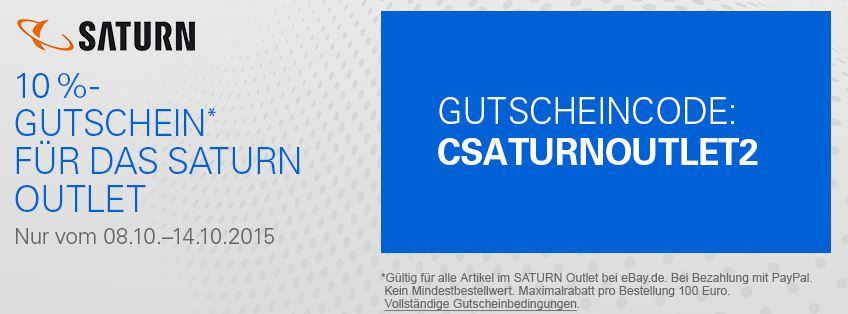 Saturn Gutschein 10 Prozent