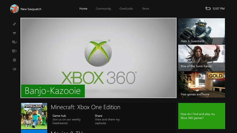 Xbox One Boot Up