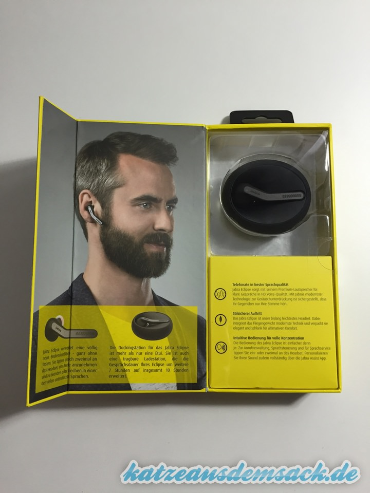 Test - Bluetooth Headset - Jabra Eclipse