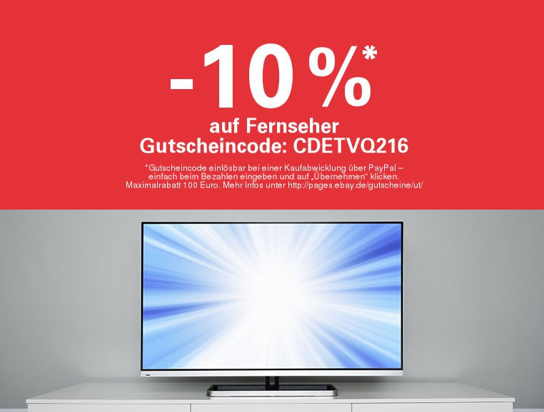 ebay-10-prozent-rabatt-auf-fernseher-paypal-max-100-euro