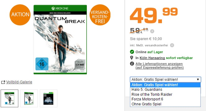 quantum-break-plus-gratis-spiel-fuer-50-euro-saturn-aktion-xbox-one
