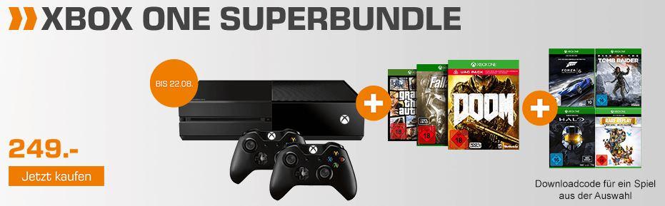 saturn-xbox-one-super-bundle-konsole-mit-vier-spielen-unter-250-euro