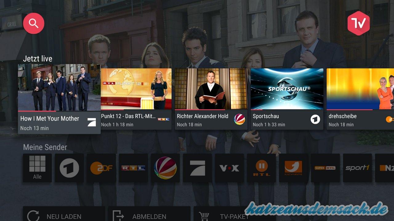 magine TV - Fernsehen via Internet - Streamen
