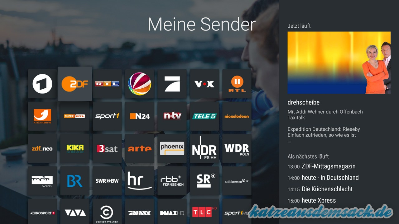 magine TV - Stream - Internet