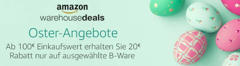 Oster Angebote - Warehousedeals 20 € Rabatt