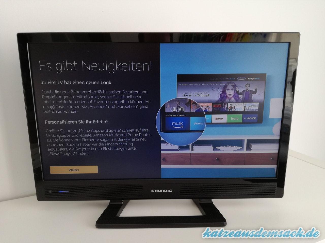 Alexa aud dem Fire TV nutzen - aktuelles Update April 2017 installieren
