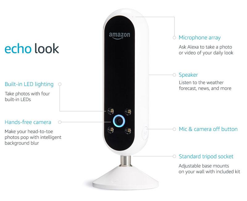 Amazon Echo Look - Mode Echo mit Kamera