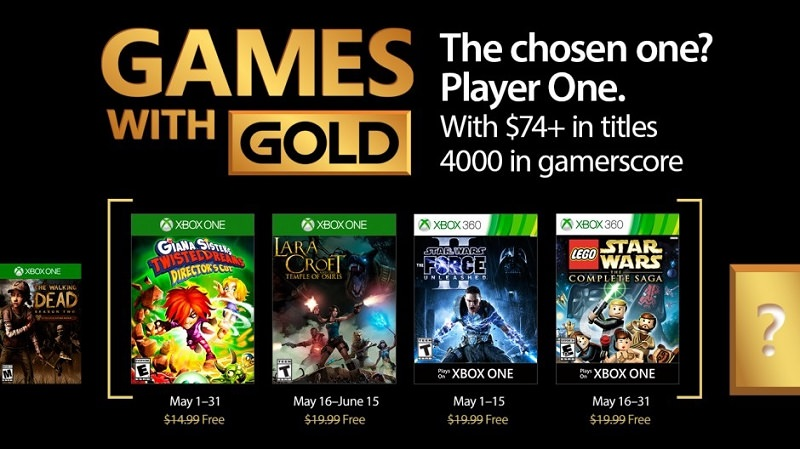 Xbox Live - Games with Gold im Mai 2017