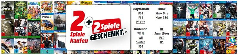 4 für 2 Aktion - Spiele/Games - Pc und Konsolen - Media Markt